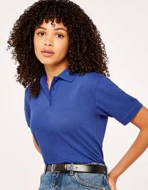Women`s Classic Fit Polo Shirt Superwash 60°